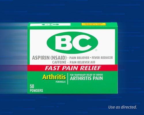 BC® Powder Headache Powder – Arthritis Strength
