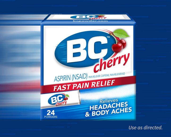 BC® Powder Headache Powder – Cherry Flavor